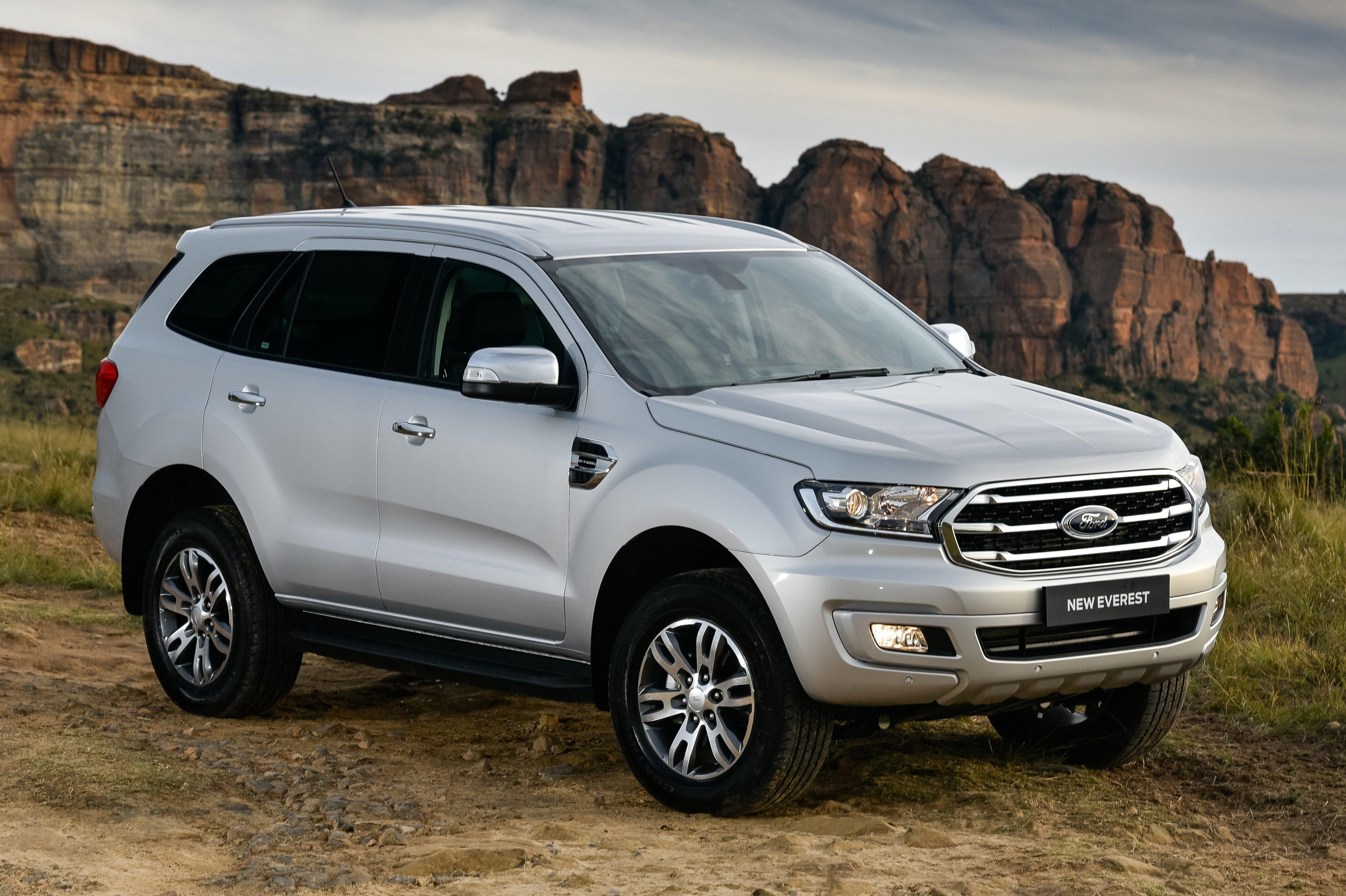 Ford Everest visto 3/4 de frente