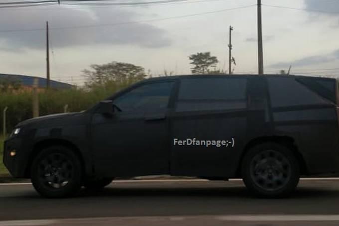 Jeep 7 lugares e SUV Fiat