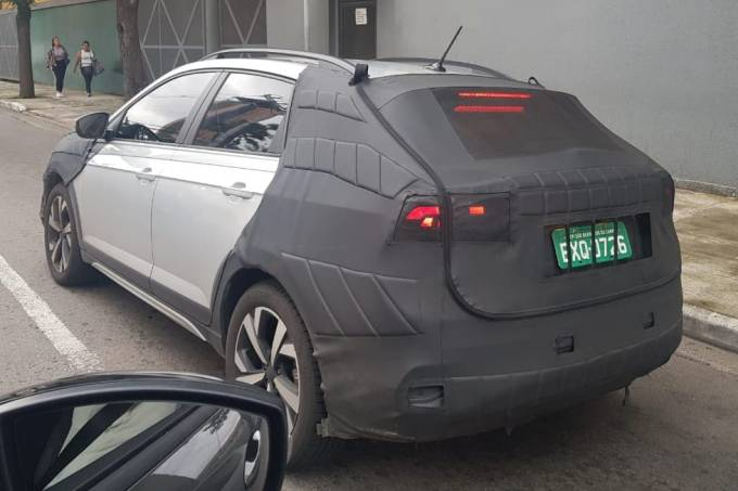 VW Nivus flagra
