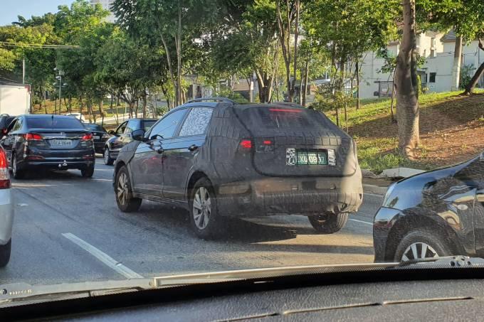 Volkswagen Nivus flagra