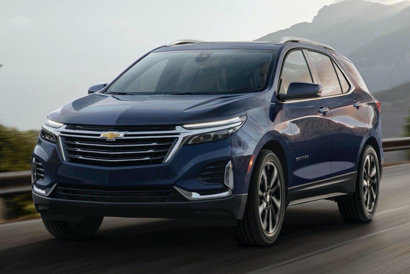 Novo Chevrolet Equinox Ganha Farois Divididos E Versao Esportivada