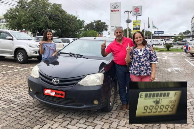 Toyota Etios 1 milhão de km 2