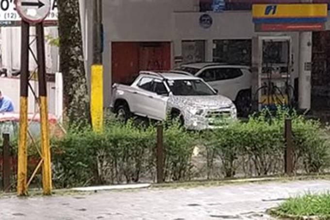 Fiat Toro facelift flagra