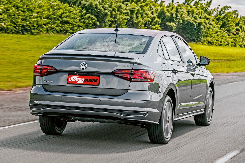 Volkswagen Virtus comparativo com o Jetta