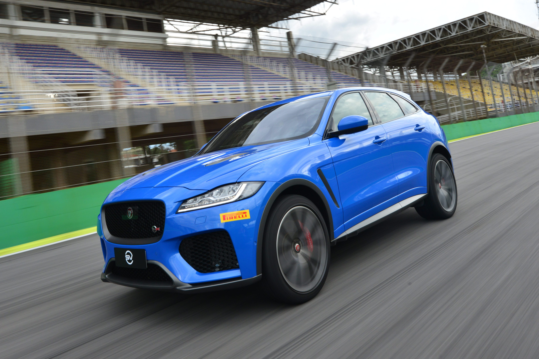 Jaguar F Pace Svr Define Nova Volta Recorde Em Interlagos Para Suvs Quatro Rodas