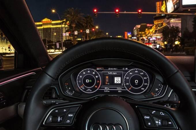 Audi leitor de sinal vermelho