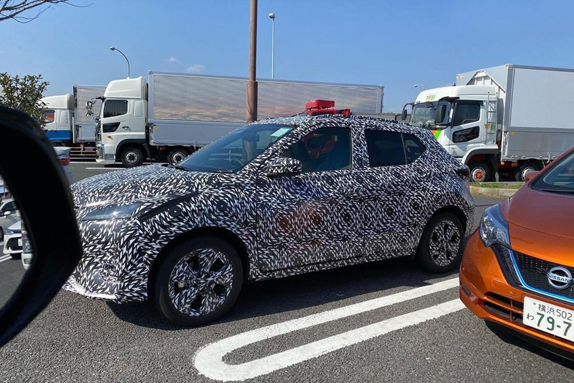 Flagra: novo Nissan Kicks híbrido promete rodar 1.200 km sem reabastecer