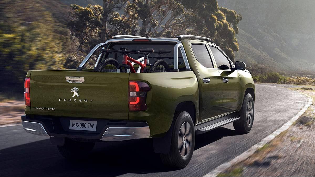 Peugeot Landtrek foi desenvolvida em parceria com a Changan