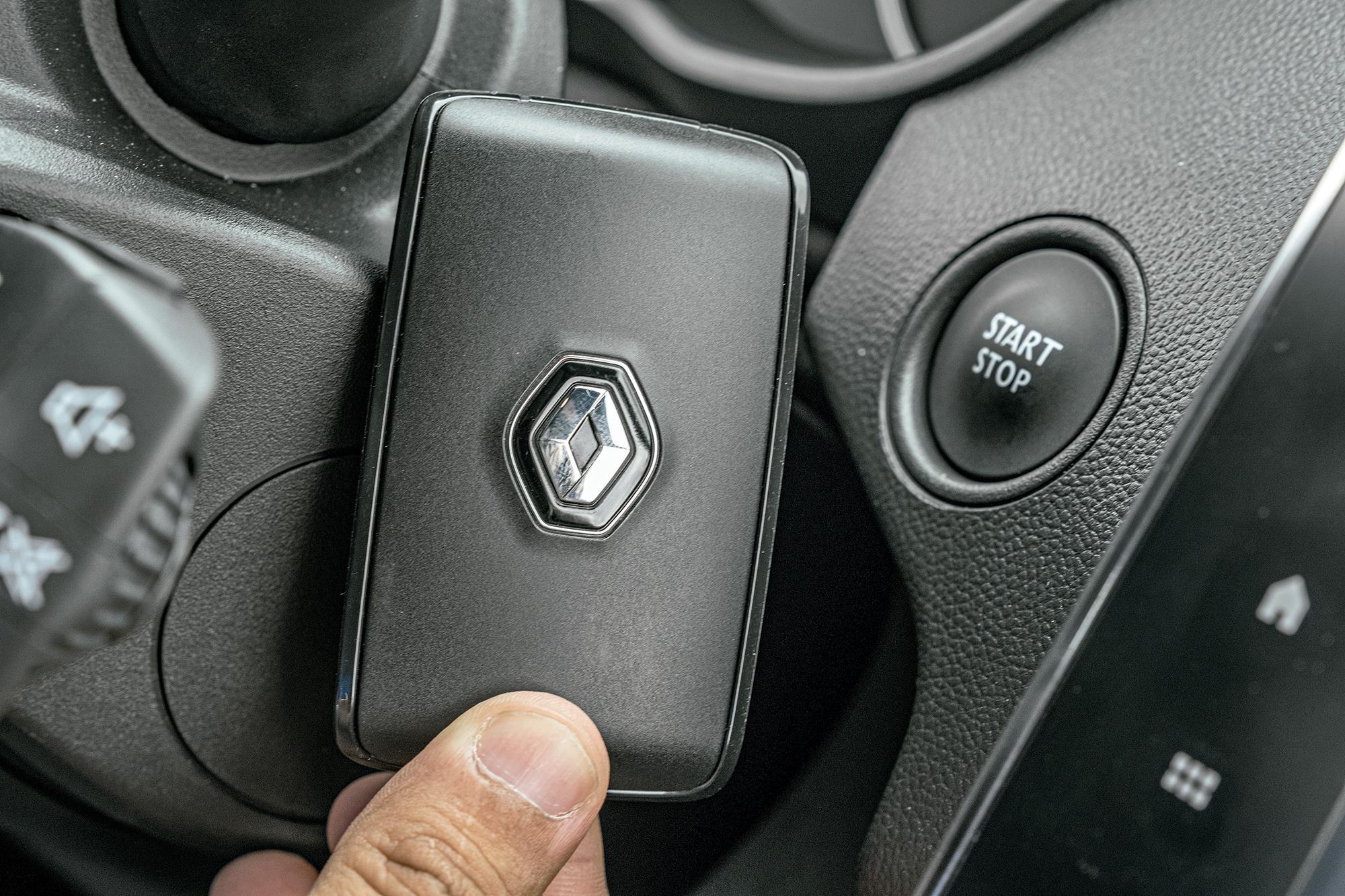 chave de proximidade keyless