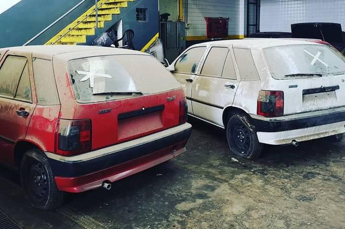 Fiat Tipo parados por 30 anos