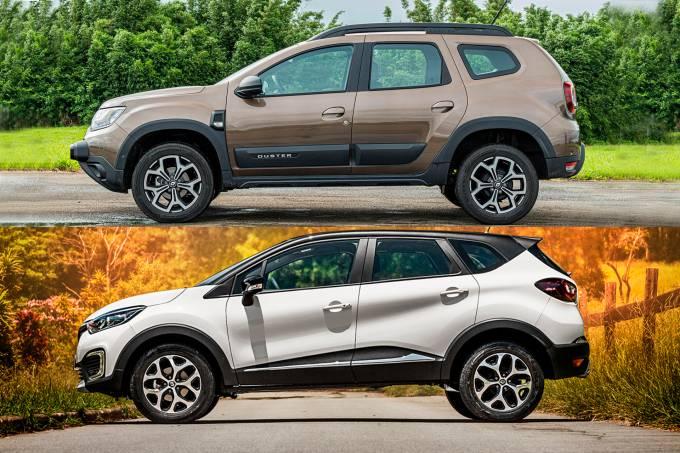 Renault Captur e Duster