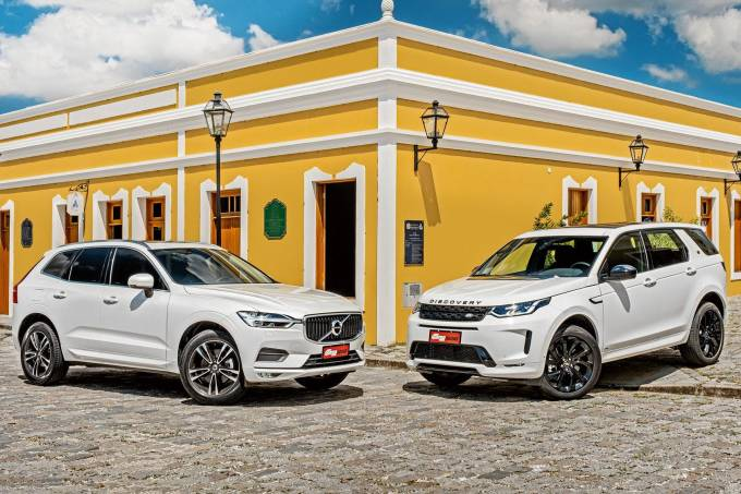 Comparativo Land Rover Discovery Sport Volvo XC60 (2)