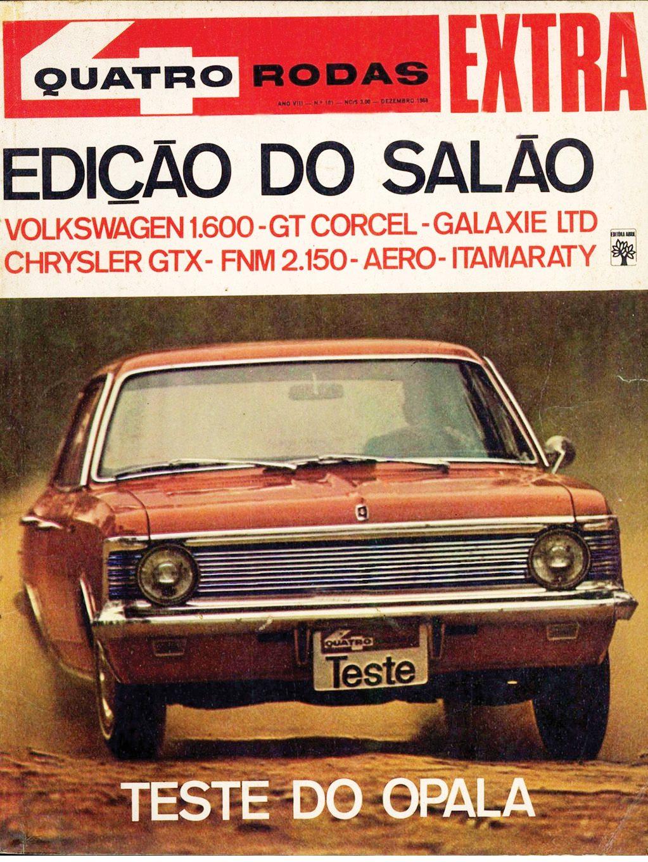 Clássicos: a gloriosa receita do Chevrolet Opala para virar fetiche