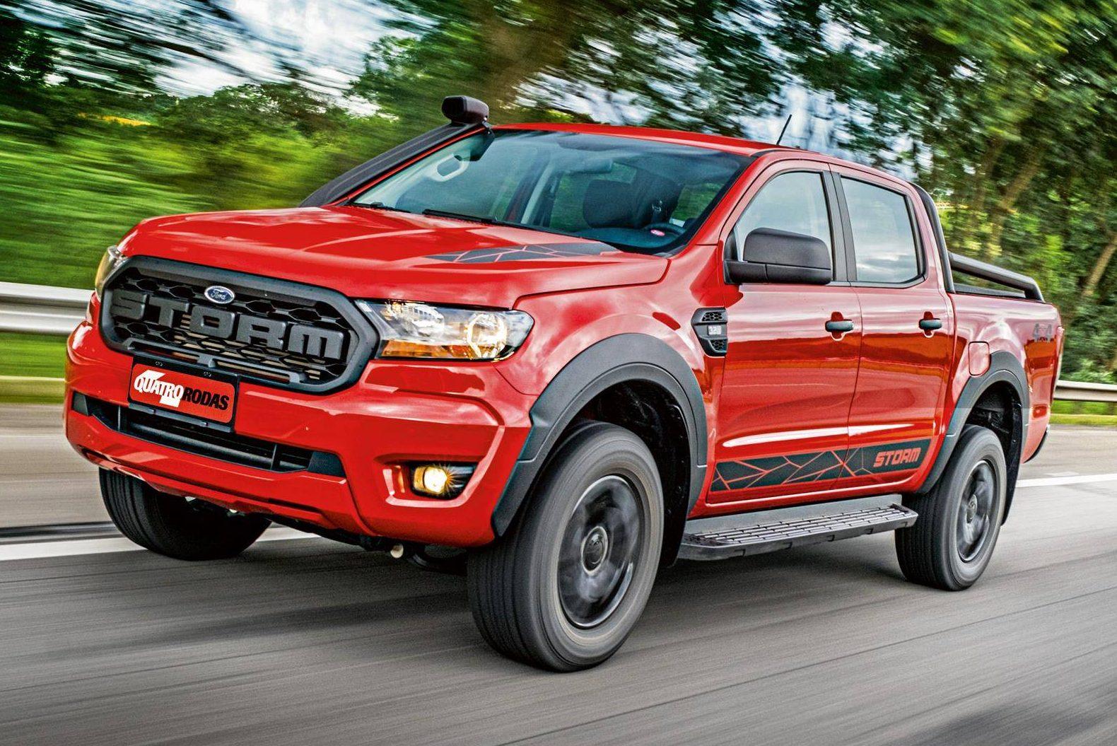 Teste Ford Ranger Storm Chama Mais Atencao Pelo Preco Que Pelo Visual Quatro Rodas