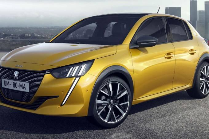 Novo Peugeot 208 europa