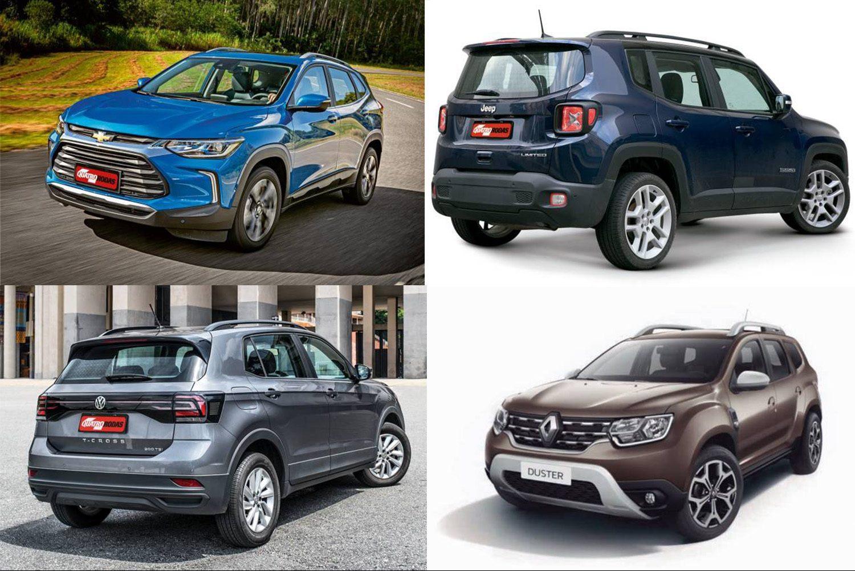 Tracker, T-Cross, Creta e mais: o que cada SUV compacto tem de exclusivo