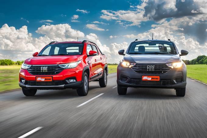 Novas Fiat Strada Volcano 1.3 cabine dupla e Endurance 1.4 cabine simples