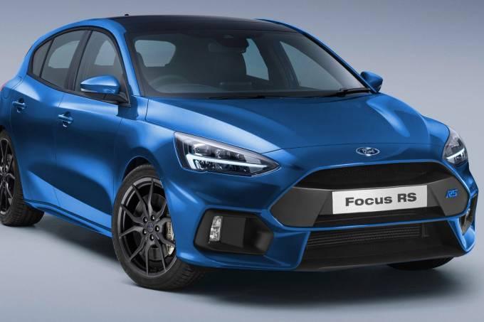 Projeção Ford Focus RS