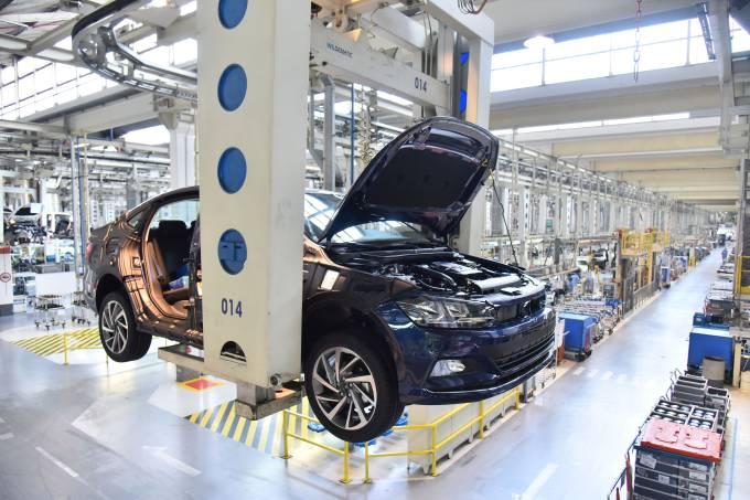 Fábrica da VW em São Bernardo do Campo (SP)
