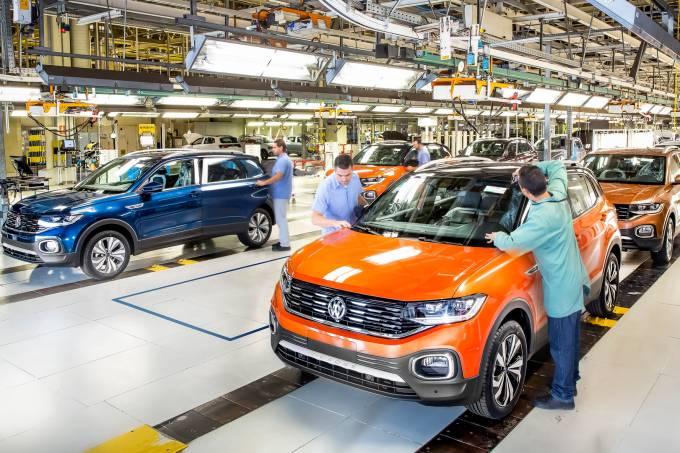 Fábrica da VW em São José dos Pinhais (PR)