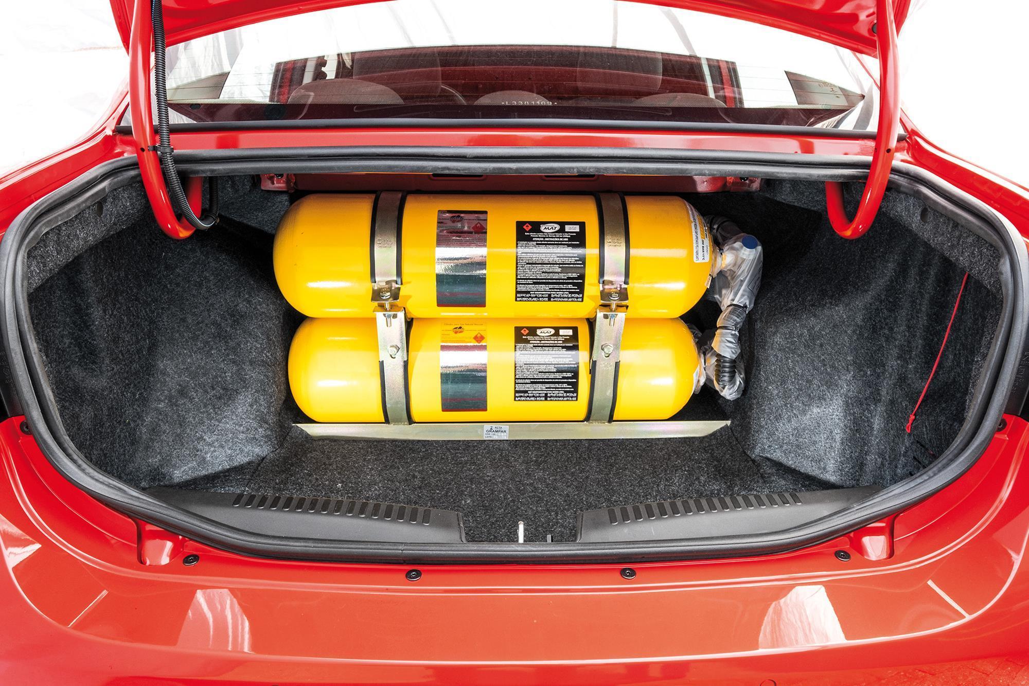 Fiat Grand Siena 1.4 Attractive preparação para GNV (11)