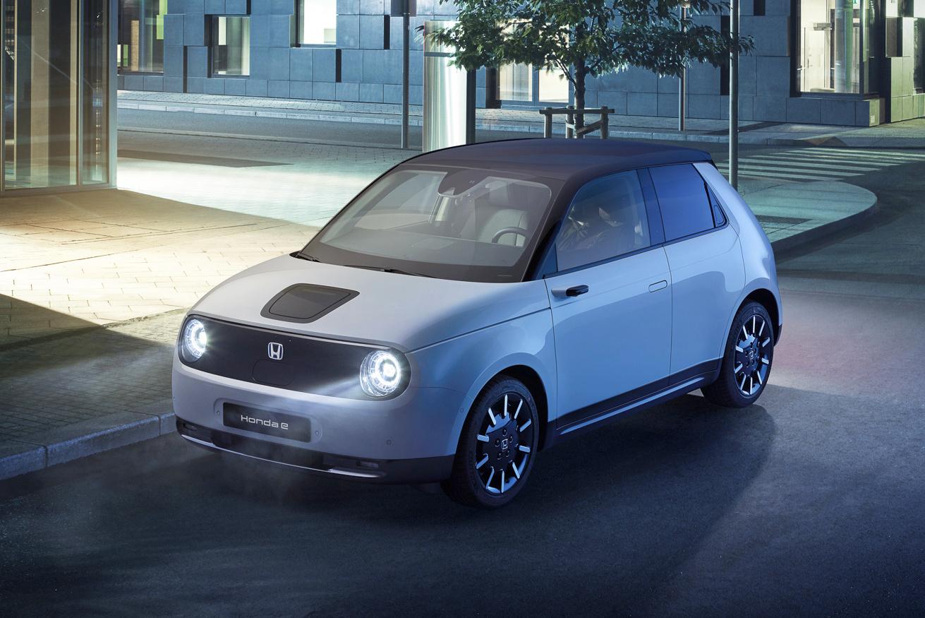 Lançado em 2019, o Honda E será o carro elétrico de entrada da Honda, que terá modelos maiores em parceria com a GM
