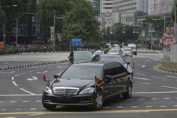 Mercedes-Benz S600 Pullman Guard de Kim Jong-un, da Coreia do Norte