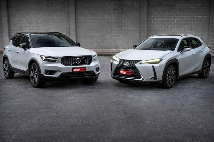 Volvo XC40 R-Design Plug-In Hybrid vs Lexus UX 250h