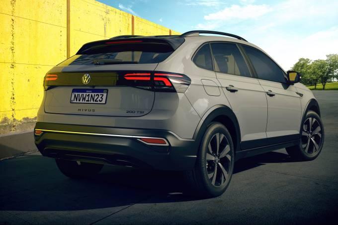 VW Nivus – cinza puro