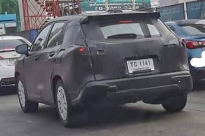 SUV Toyota – flagra