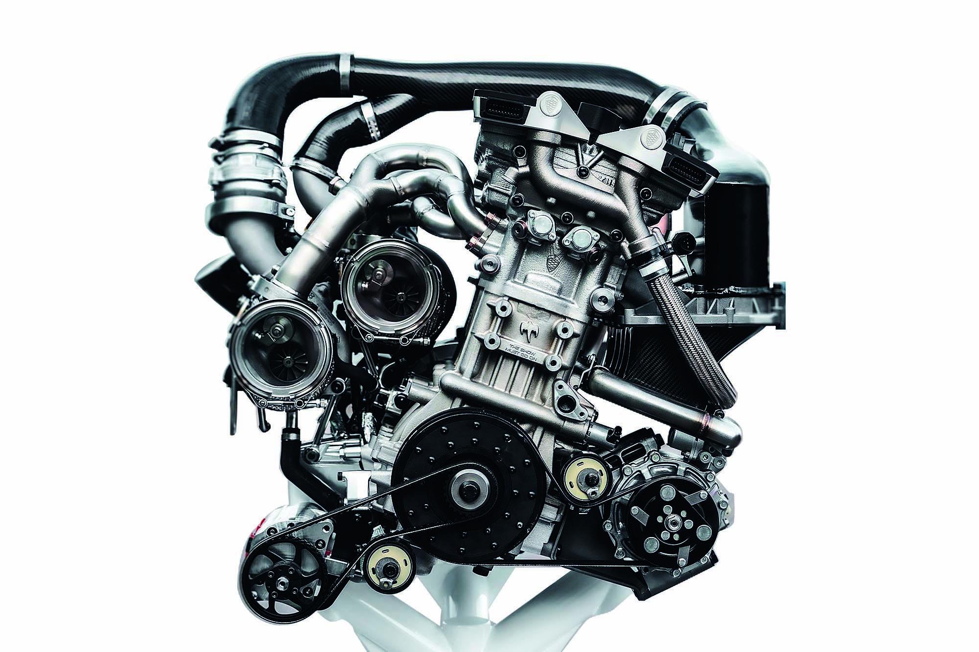 Motor 2.0 tem atuadores de válvulas hidropneumáticos