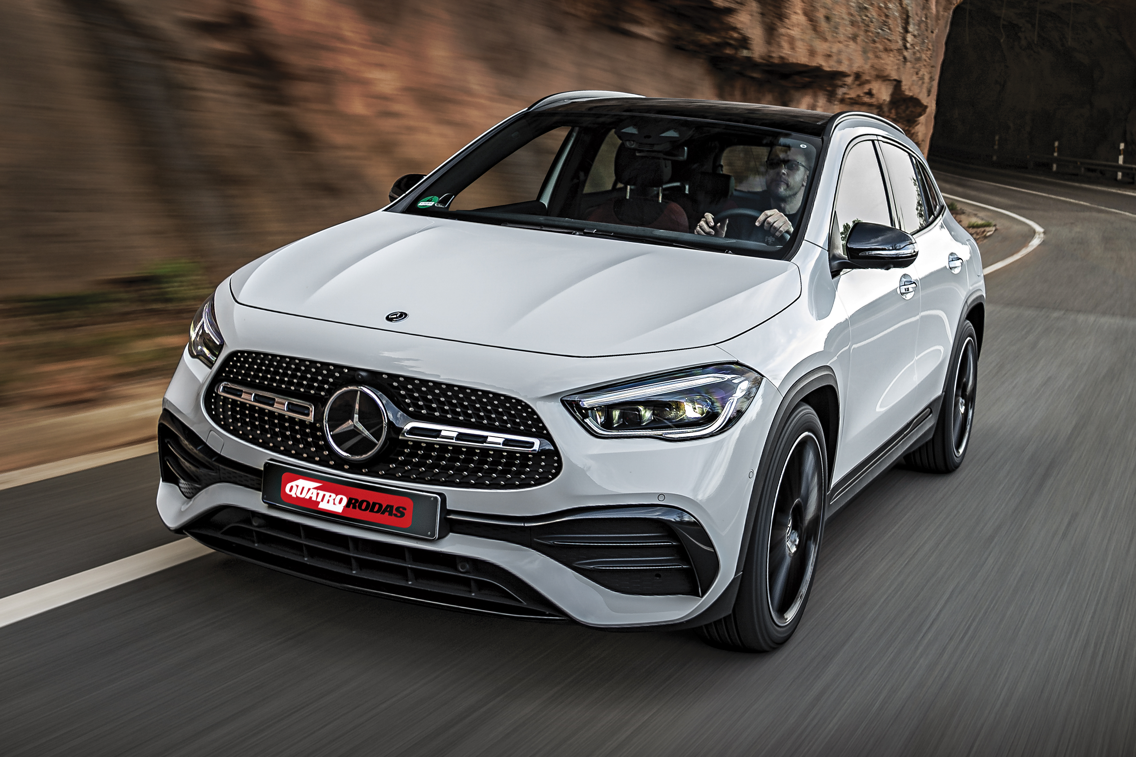 Impressoes Novo Mercedes Benz Gla Enfim Pode Ser Chamado De Suv Quatro Rodas