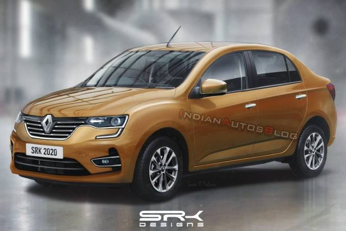 Sedã baseado no Renault Kwid