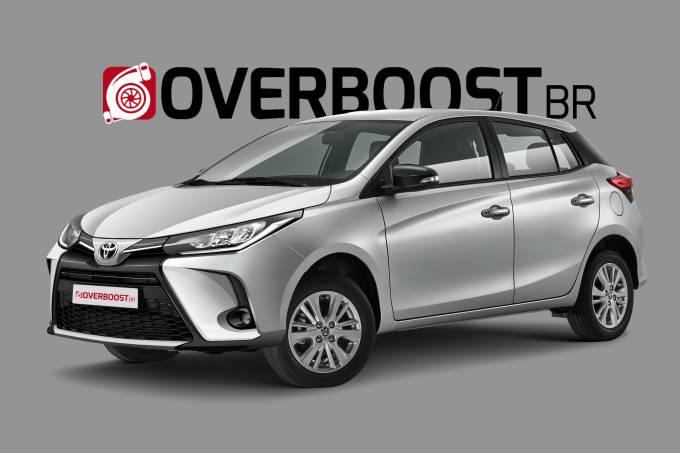 Toyota Yaris facelift – Projeção