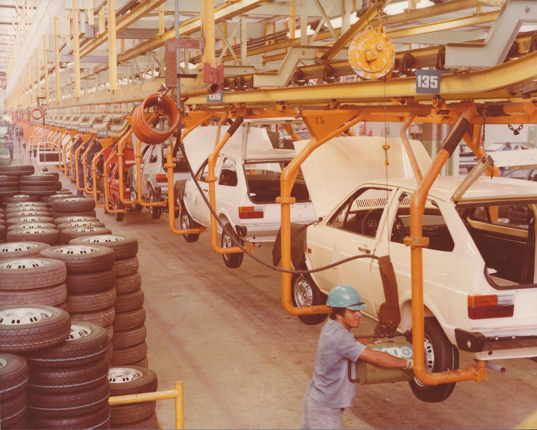 Produção do Gol começava há 40 anos em Taubaté