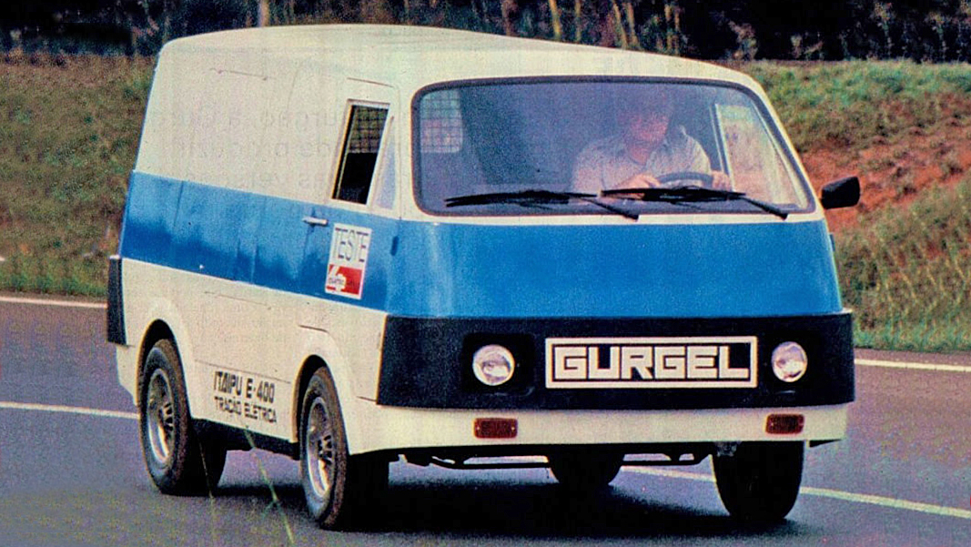 Gurgel Itaipu, o suspiro de vanguarda do Brasil entre os carros elétricos