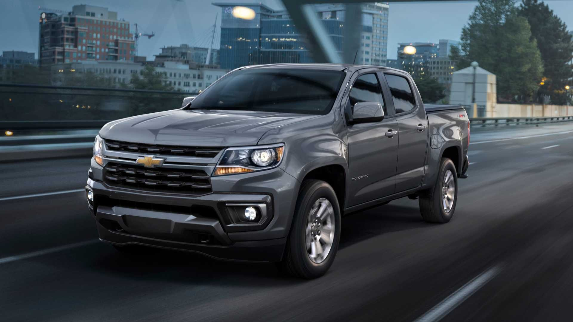 Nova Chevrolet S10, é você? Esta é a prima americana Colorado renovada