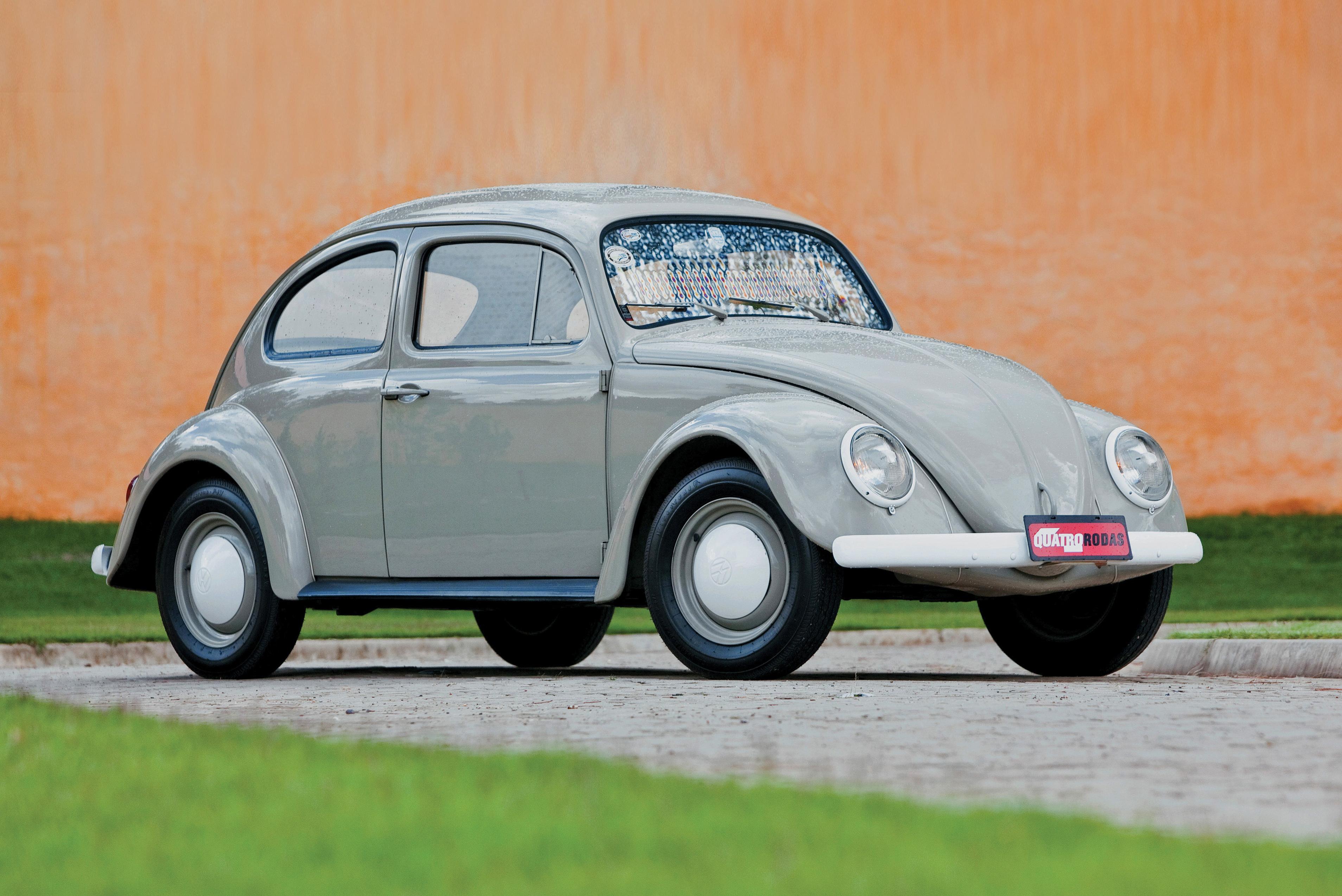 VW Fusca Pé de Boi, o carro mais pelado já feito no Brasil