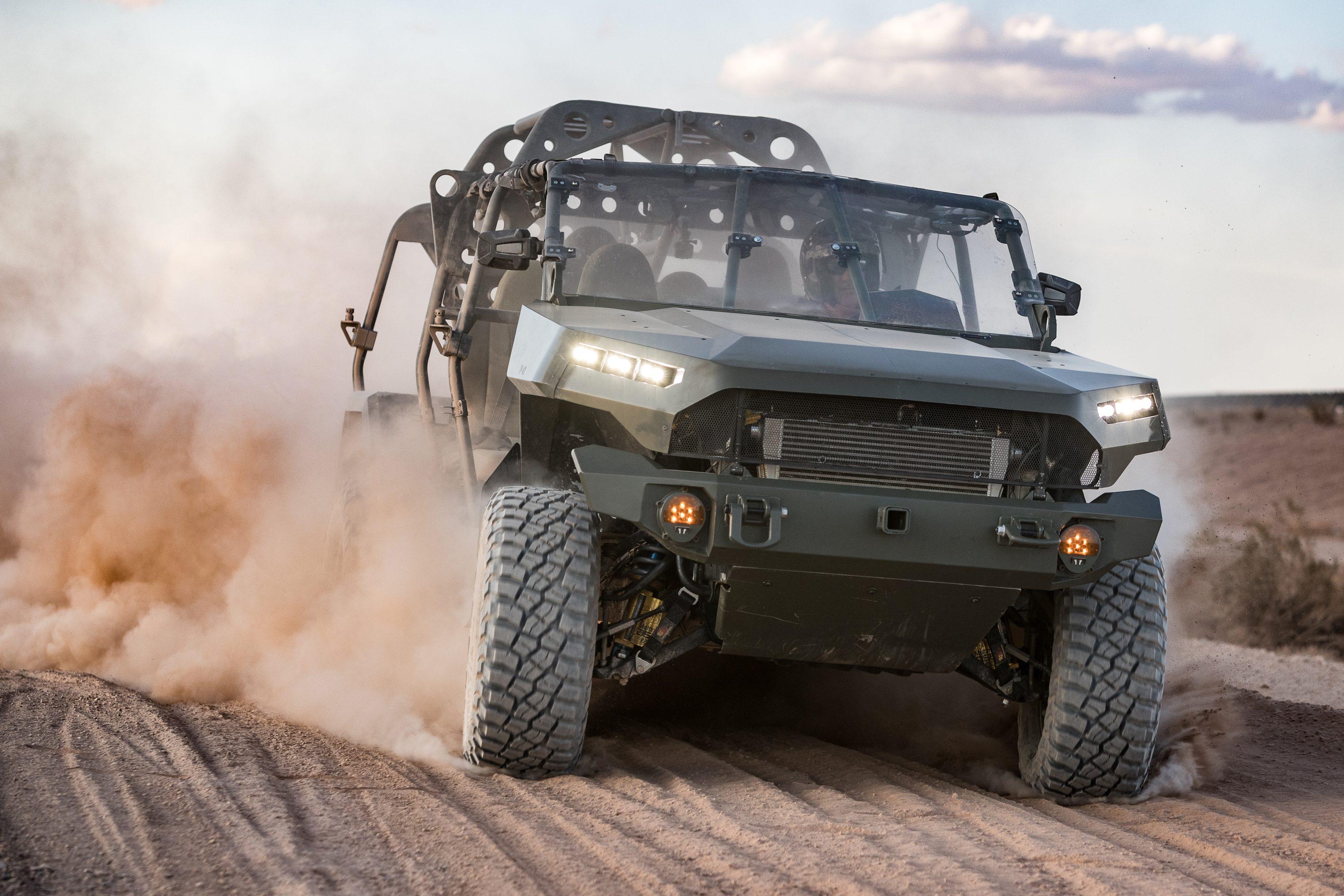 Este veículo brutal do Exército dos EUA usa base e motor da Chevrolet S10