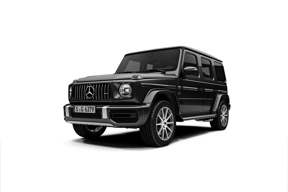Recall: comunicado aos proprietários dos automóveis Mercedes-AMG G 63