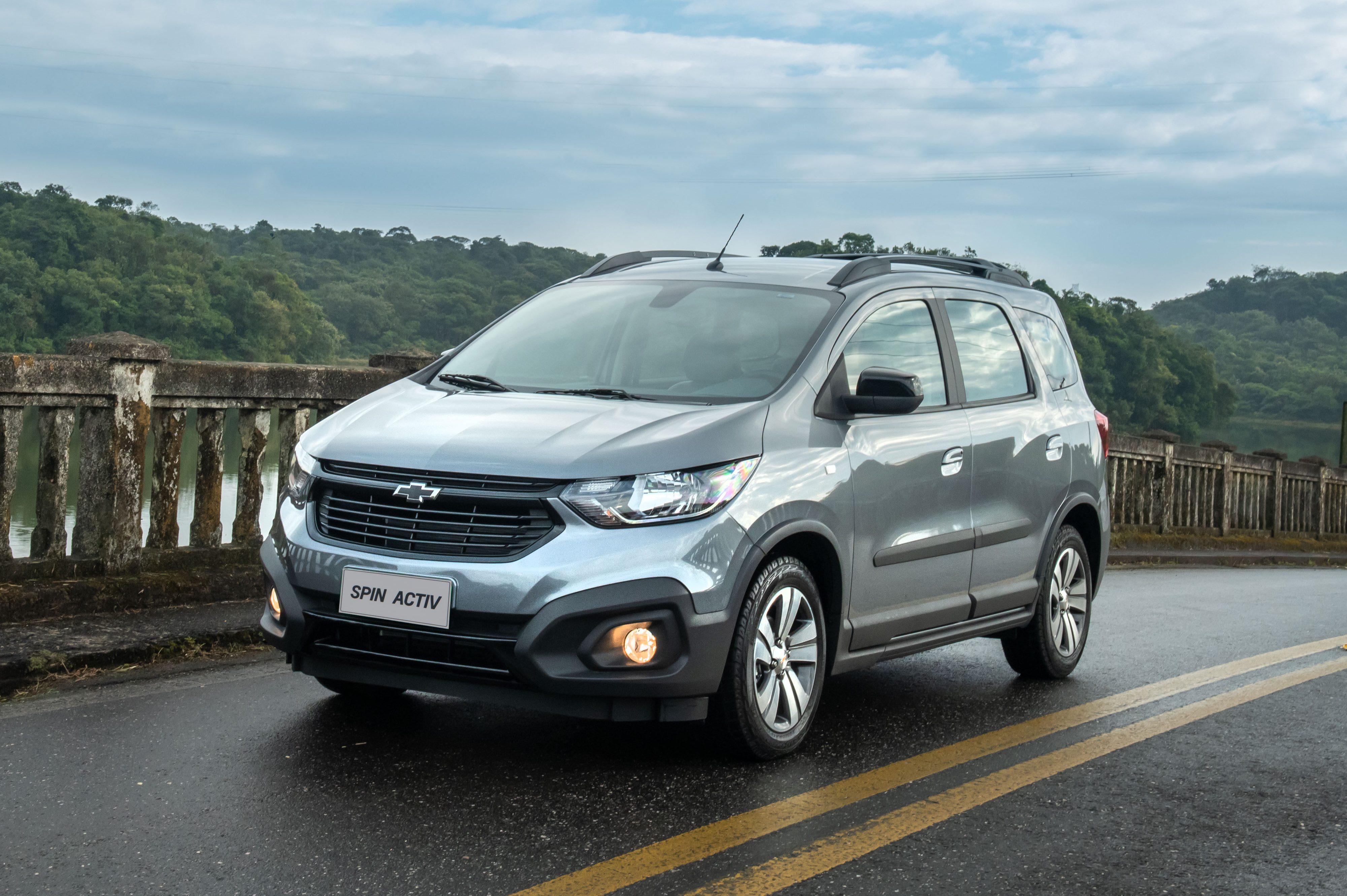 Chevrolet Spin 2021 ganha controle de estabilidade e supera os R$ 100.000