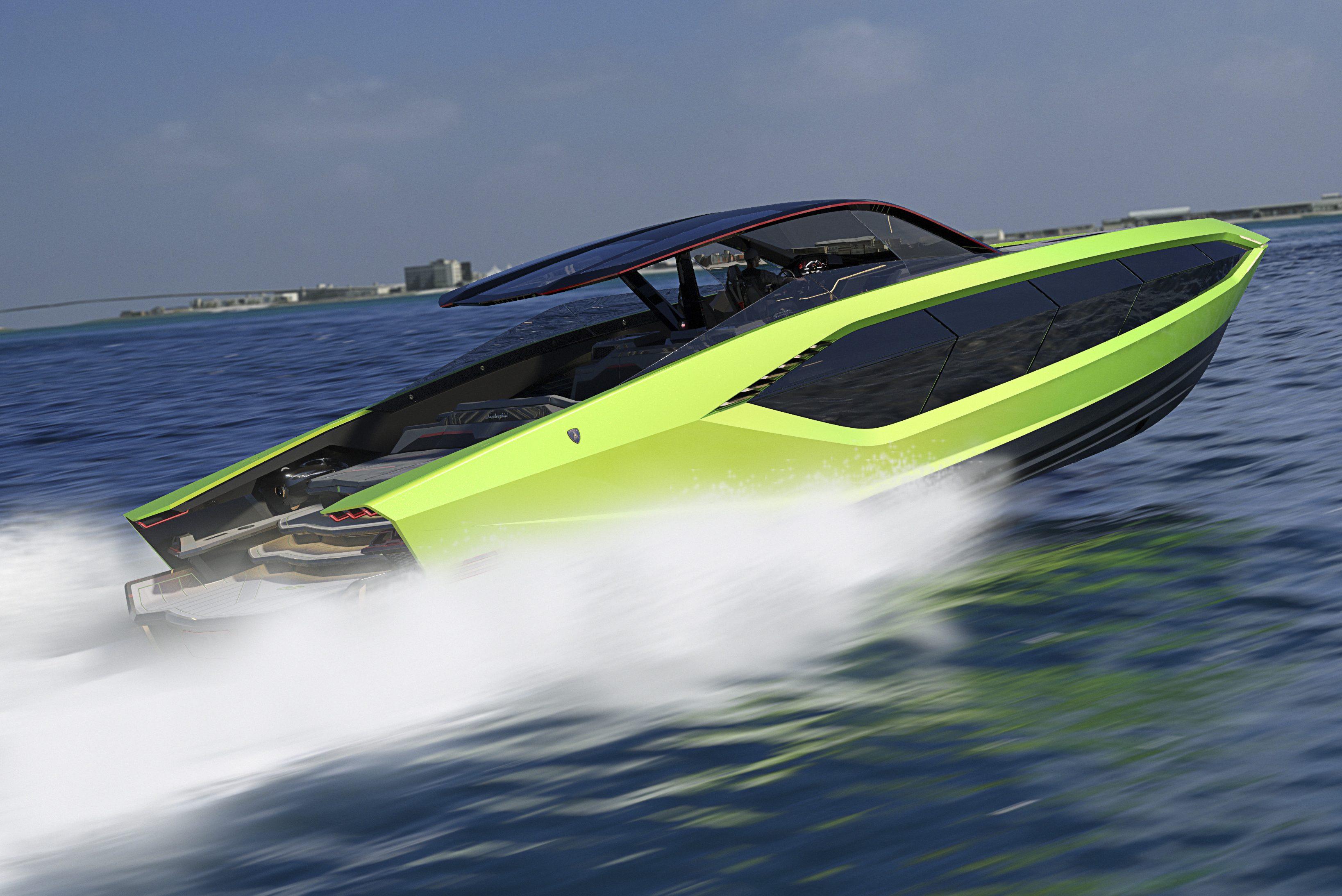 Lamborghini mais potente da história será este incrível iate de 4.000 cv