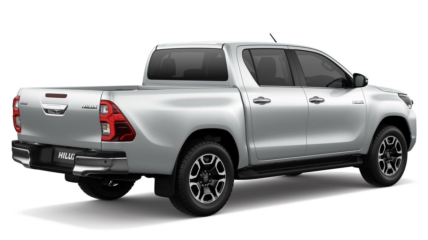 Nova Toyota Hilux tem peça registrada no Brasil e chega ainda em 2020