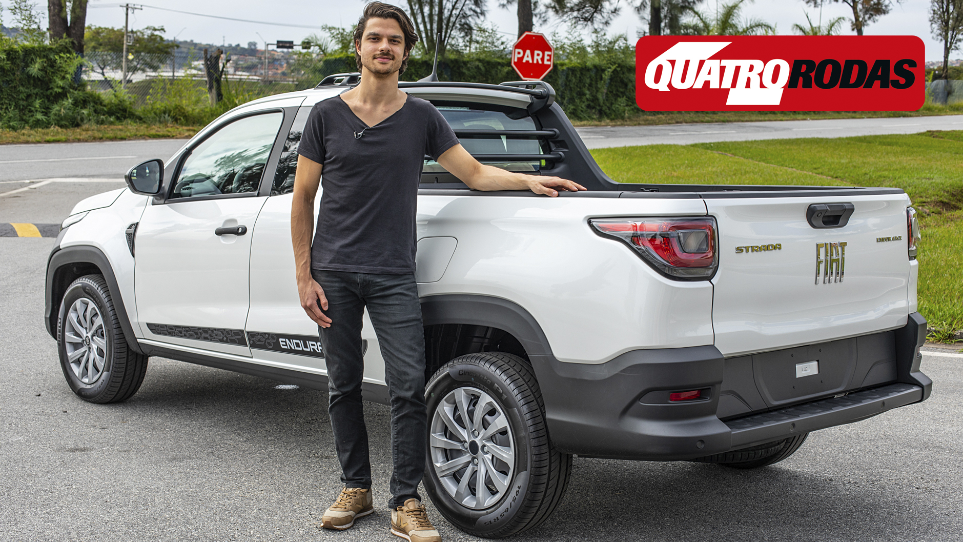 Vídeo: andamos na Fiat Strada cabine Plus, versão que será a mais vendida