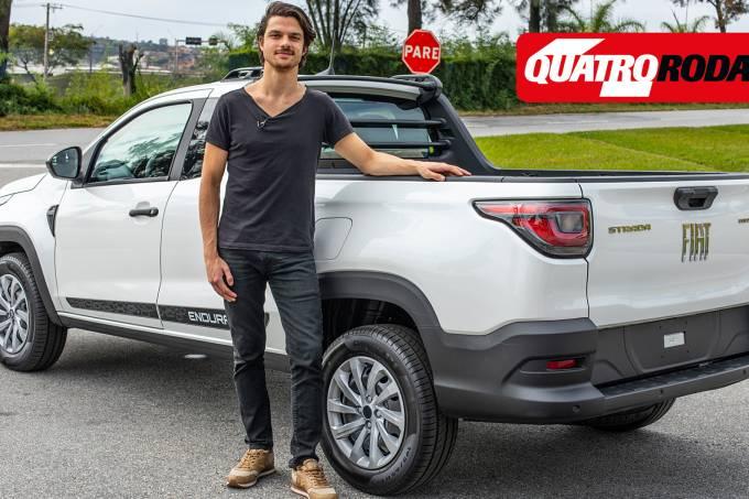 Vídeo nova Fiat Strada