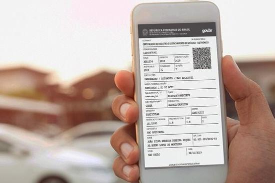 Documento digital do veículo enfim está disponível em todo o Brasil