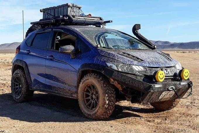 Honda Fit Off road