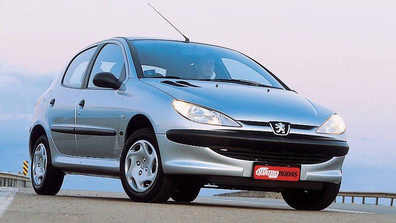 Peugeot 206 Selection 2001, o primeiro fabricado no Brasil
