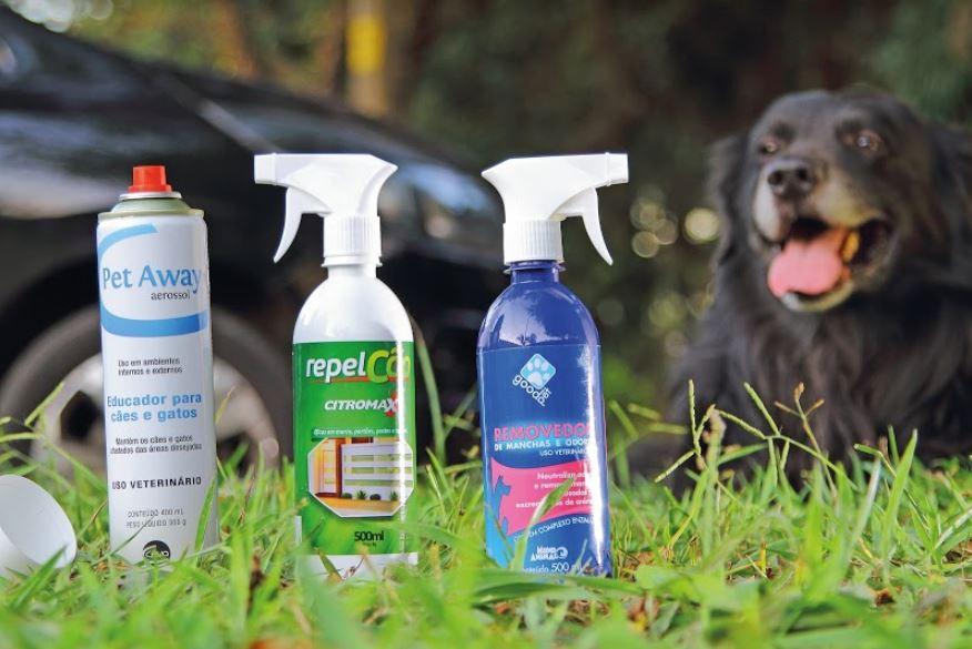 Estes produtos prometem evitar que cães urinem nas rodas do seu carro