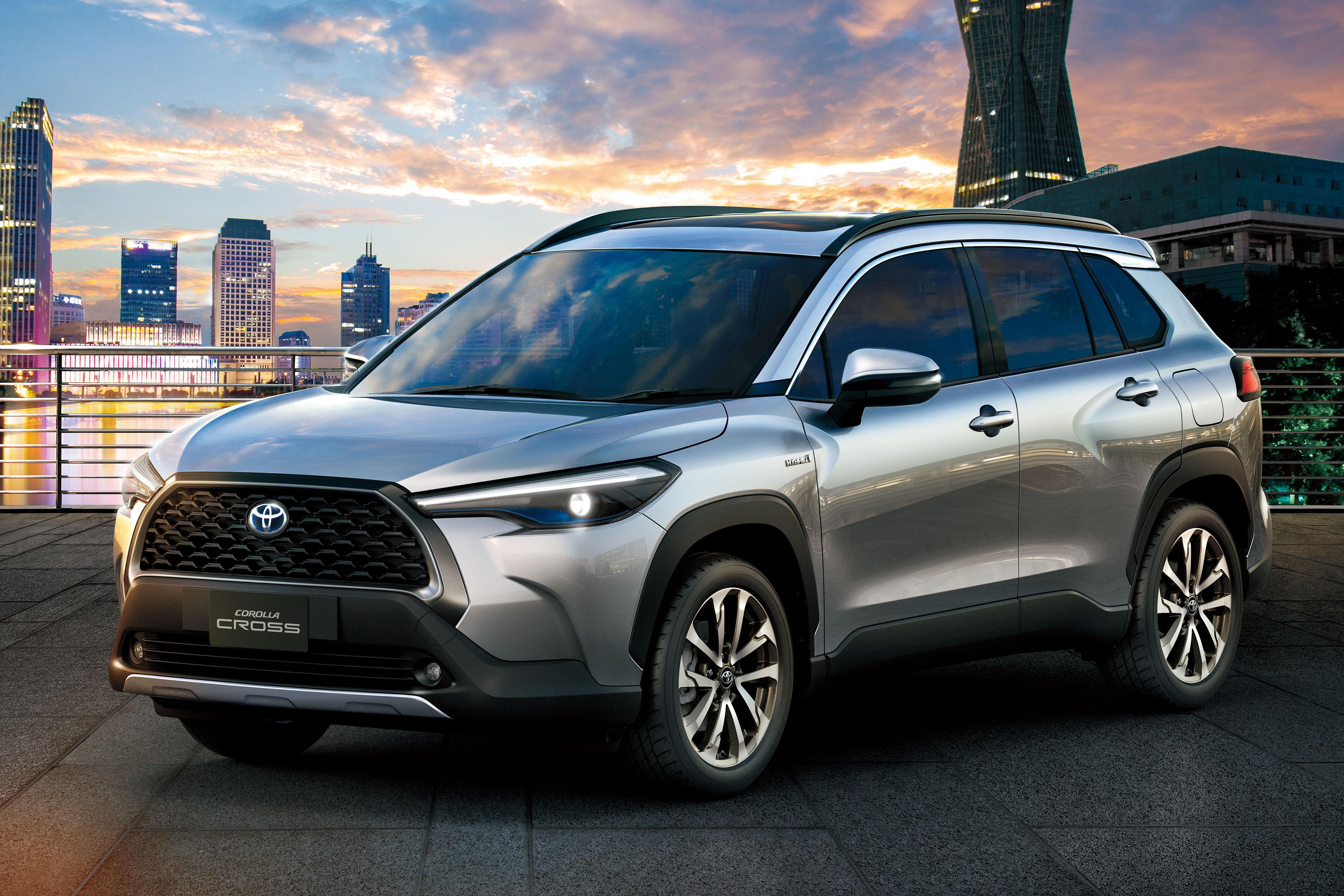 Corolla Cross Novo Suv Da Toyota Tem Porte Do Compass E Motor Hibrido Quatro Rodas